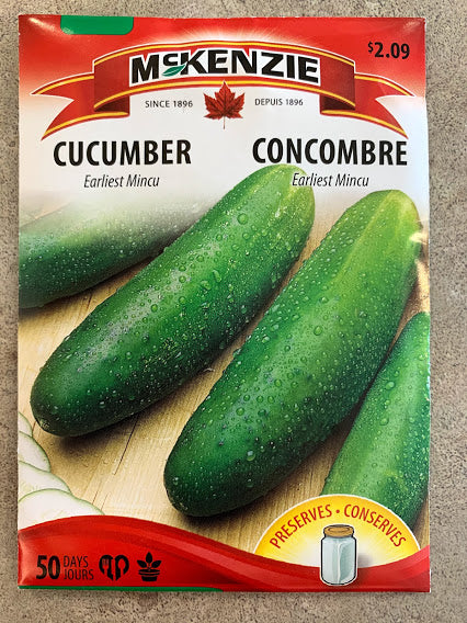 Cucumber Seeds - Seed Packets