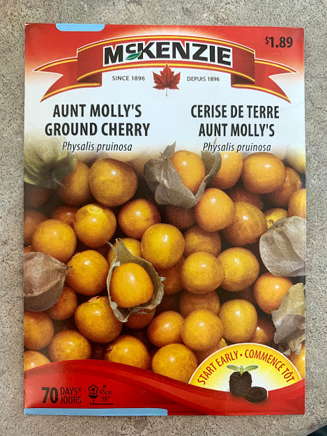 Aunt Molly's Ground Cherry Seeds - Seed Packet