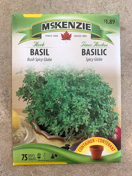Herb - Seed Packet - Basil