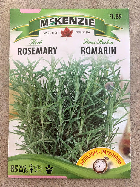 Herb - Seed Packet - Rosemary
