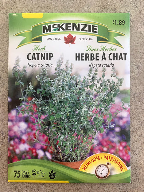 Herb - Seed Packet - Catnip