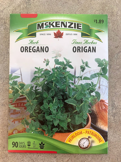 Herb - Seed Packet - Oregano