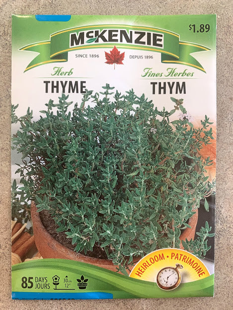 Herb - Seed Packet - Thyme