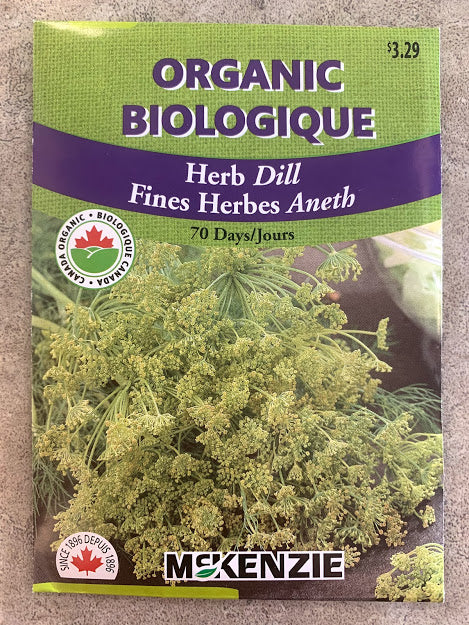 Herb - Seed Packet - Dill