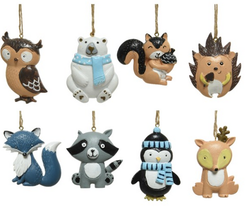 Ornament - Assorted Animals