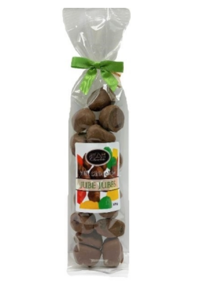 Chocolate Covered Jube Jubes - 125g Bag
