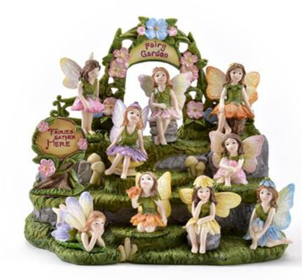 Fairy Garden Butterfly Angel Figurine