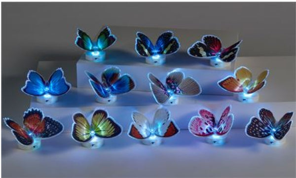 Butterfly Fibre Optic LED