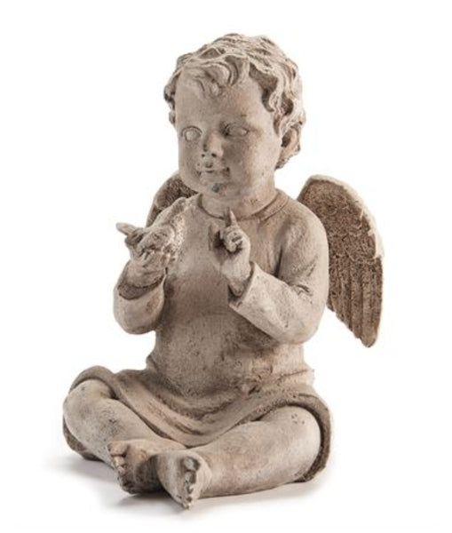 Angel Baby Sitting Figurine