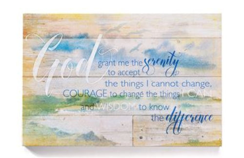 Sign Serenity Prayer