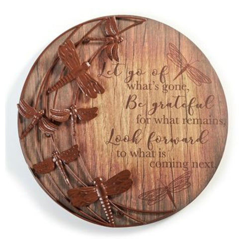 Wall Plaque Dragonfly