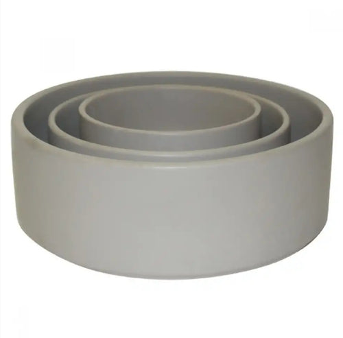 Bowl Straight Matte Light Grey