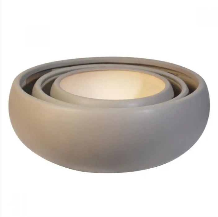 Bowl t Matte Light Grey