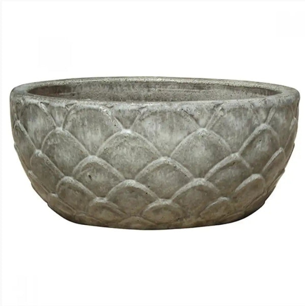 Bowl - Artichoke Crackle Grey