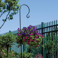 Shepard Hook- Hanging Basket Stand