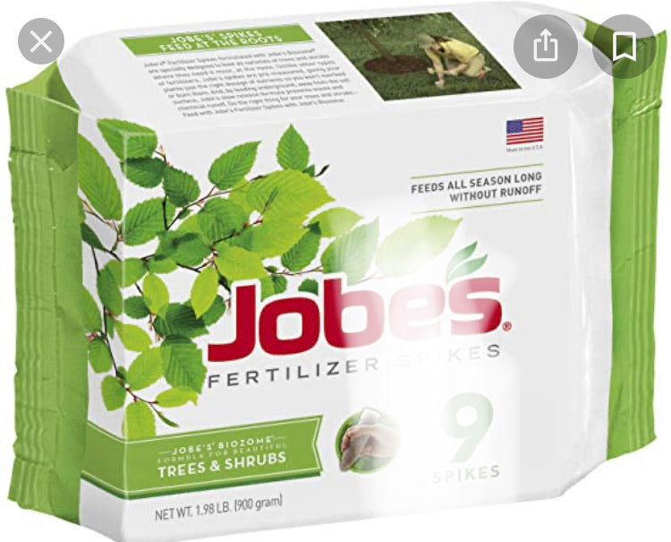 Jobes Spikes Trees and Shrubs 15-3-3
