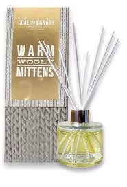 Coal and Canary - Warm Wooly Mittens Reed Diffuser