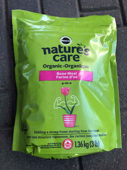 Nature's Care Organic Bone Meal  3LB