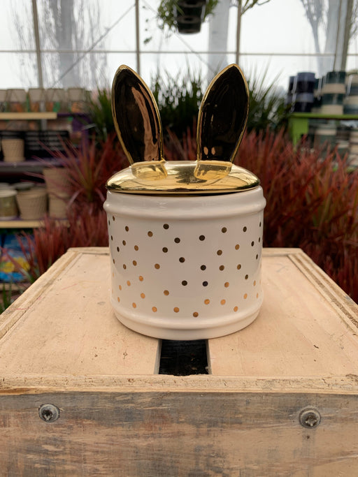 Bunny Ear Candy Jar
