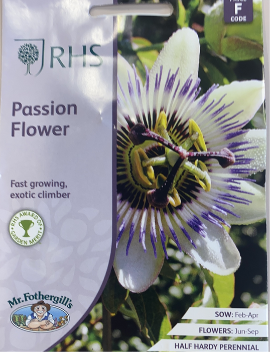 passion flower - Seed Packet-