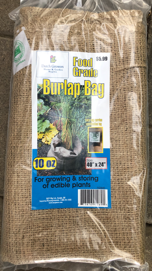 Burlap Bag Food Grade