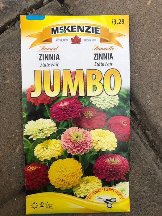Zinnia - Seed Packet