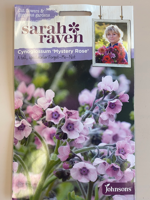 Forget-Me-Not Cynoglossum - Seed Packet- Sarah Raven