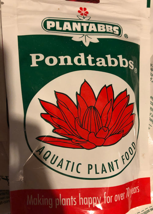 Pond fertilizer tablet