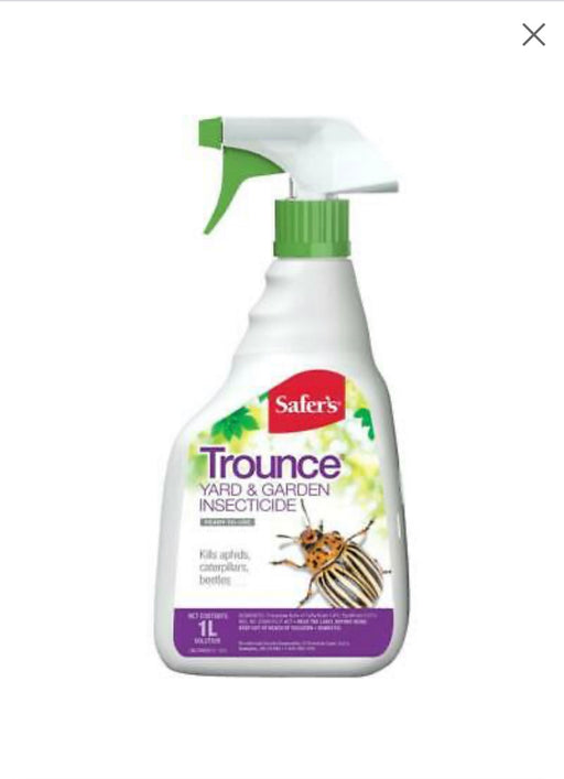Trounce yard and garden insecticide