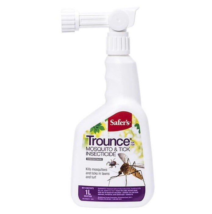 Trounce mosquito and tick insecticide hose end