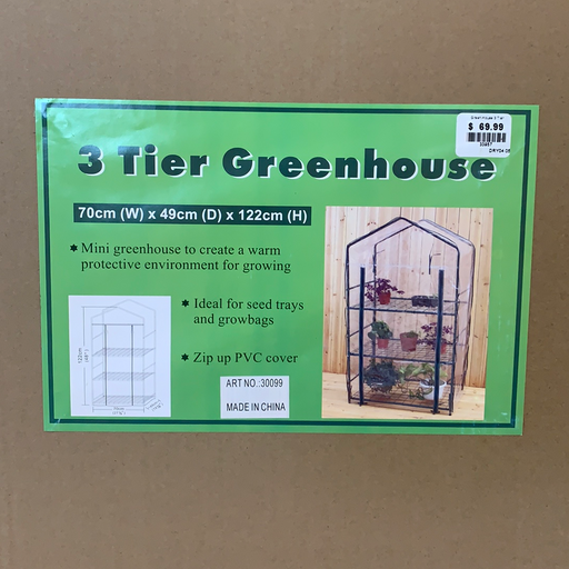 3 Tier Greenhouse