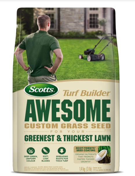 Scotts Awesome Custom Grass Seed
