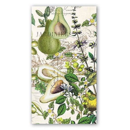 Michel Design Works - Avocado Hostess Napkins