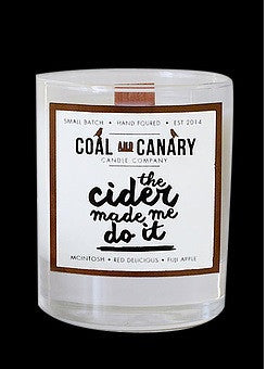 Coal and Canary - Candle The Cider Made Me Do It