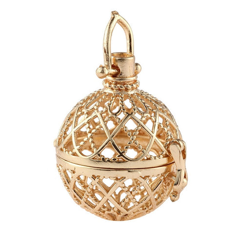 Hollow Cage Pendant