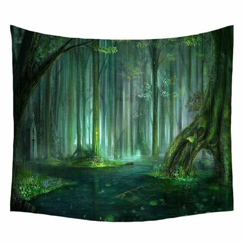 Hyha Spring's Breath Tapestry