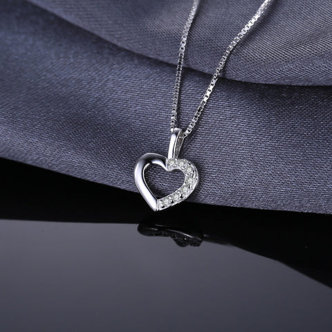 Image of Heart Necklace | silver Necklace | Necklace | Heart Necklace