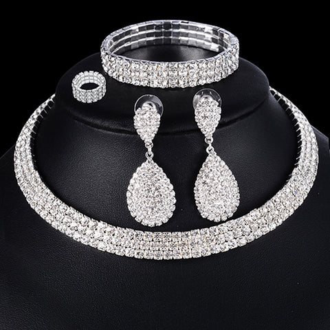 Image of Luxury Wedding Jewelry Set