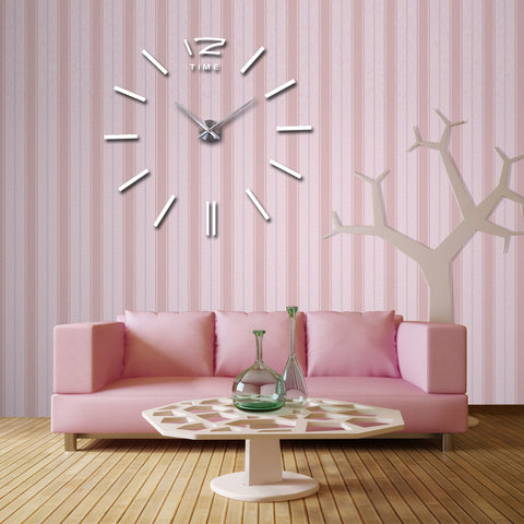 Image of Acrylic Mirror Wall Clock