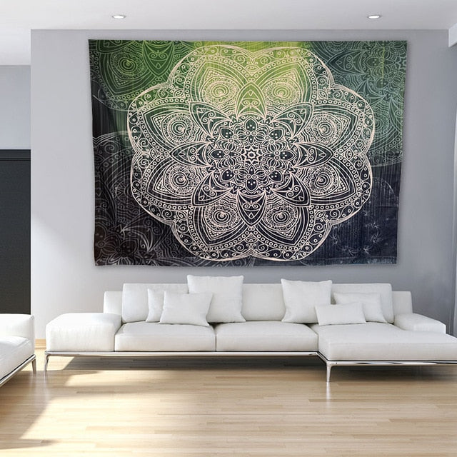 Large Mandala Tapestry