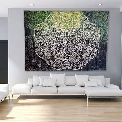 Image of Large Mandala Tapestry