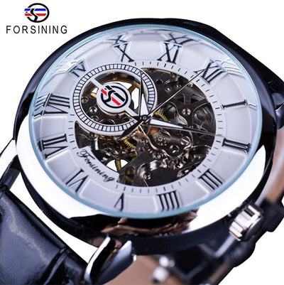 3D Logo Design Hollow Engraving Watch