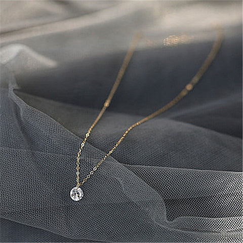 Crystal Fine Necklace