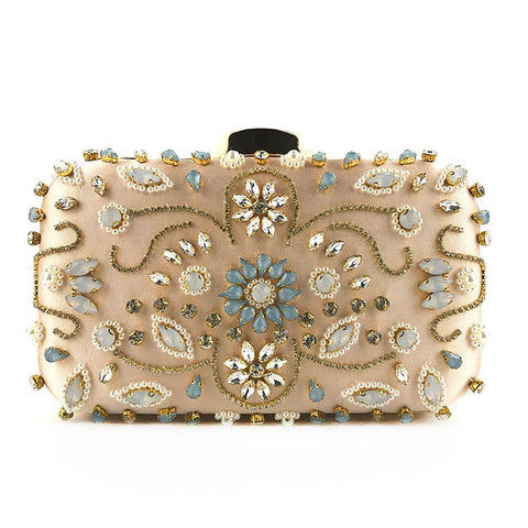 Image of Evening Bag Diamond | Women Bag | Travel Bag | Diamond Bag | Evening Bag