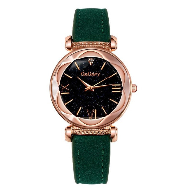 Luxury Women's Watch |  ladies watch |  Leather watch