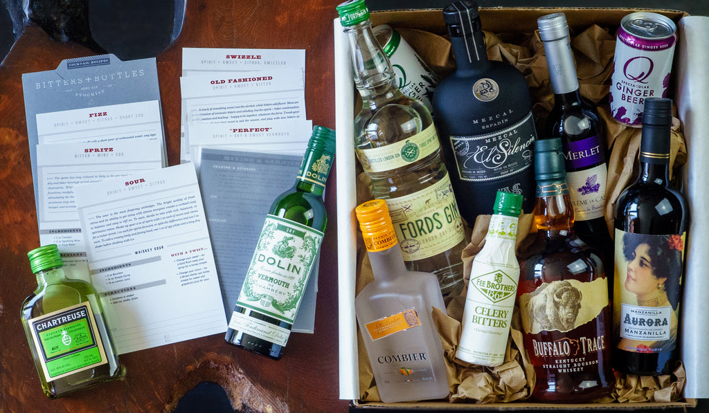 Gift Cocktail Box Delivered