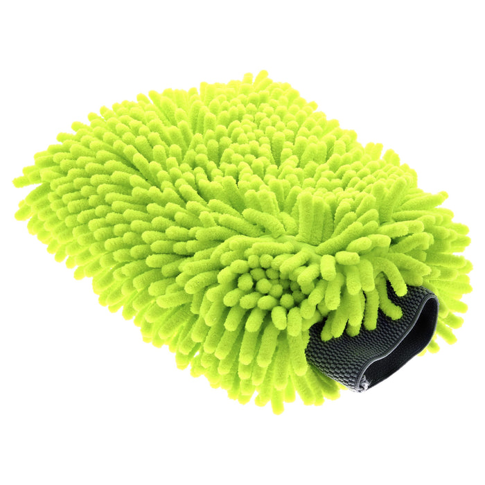 "Microfiber Chenille Wash Mitt  9"" x 11"" - Accessories - KryptoCoat®"