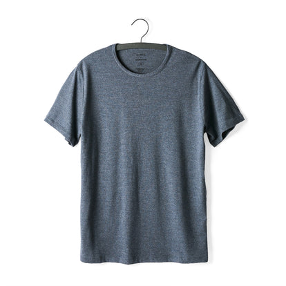 The Antoni Tee in Heather Blue