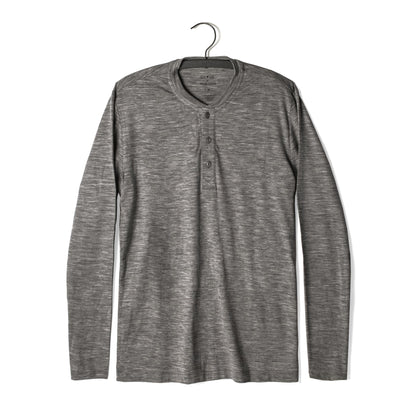 The Zaha Henley in Heather Grey