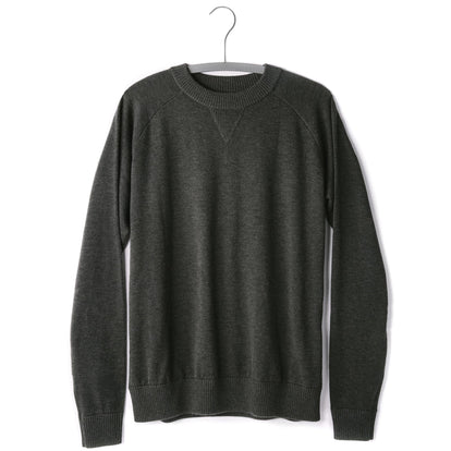 The Oscar Sweater in Charcoal